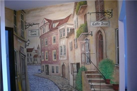 2-malarstwo-scienne-uliczka