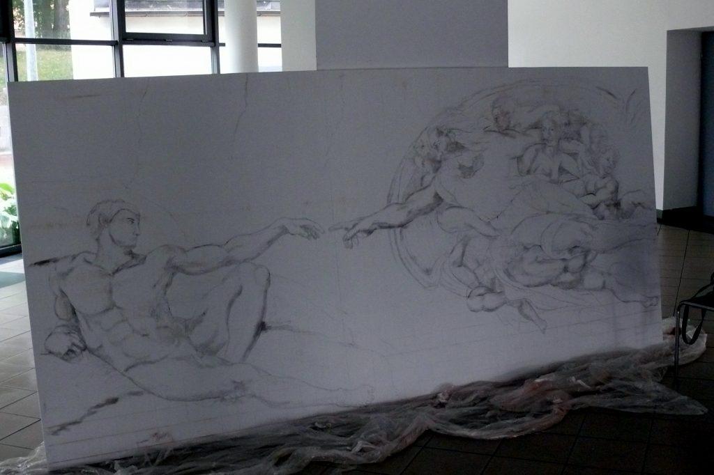 Malowanie obrazów na zamówienie, reprodukcję znanych dzieł, kopie mistrzów