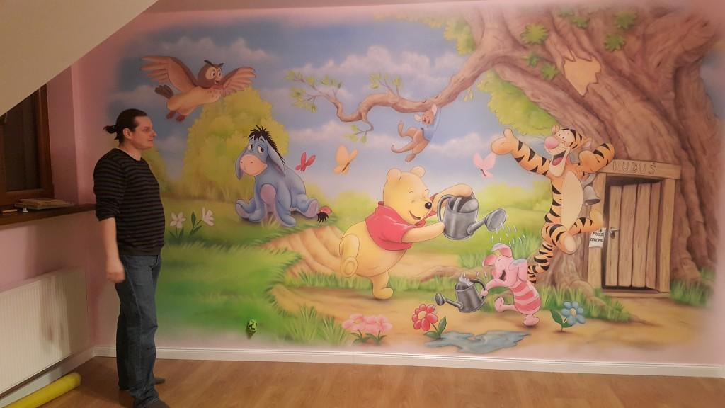 Ciekawy sposób na pomalowanie ściany w pokoju dziecka