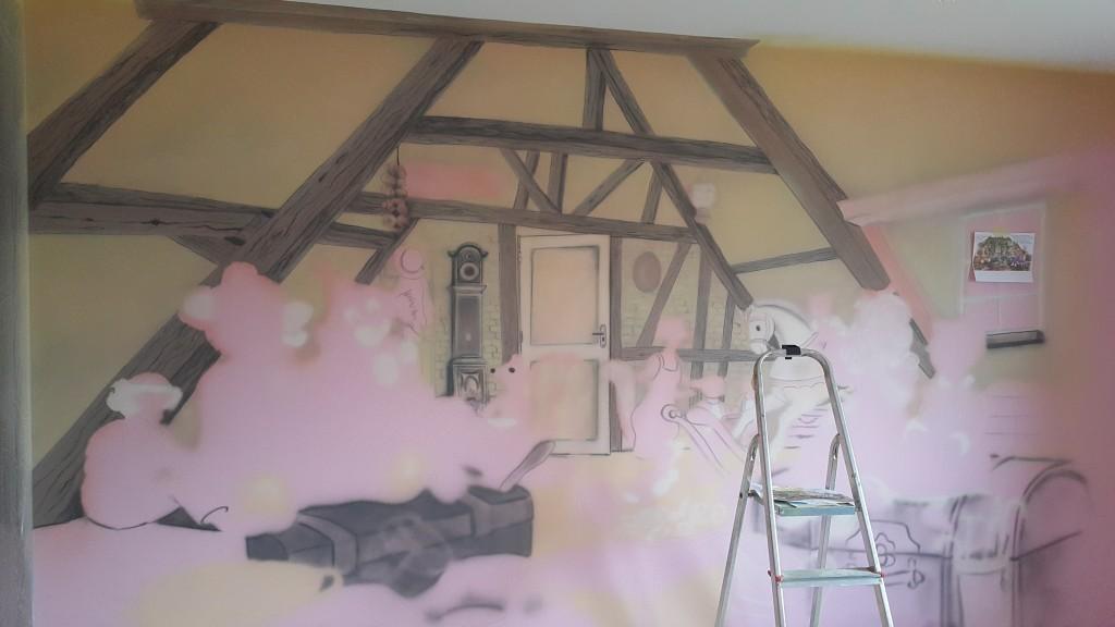 Malowanie obrazu korok po kroku