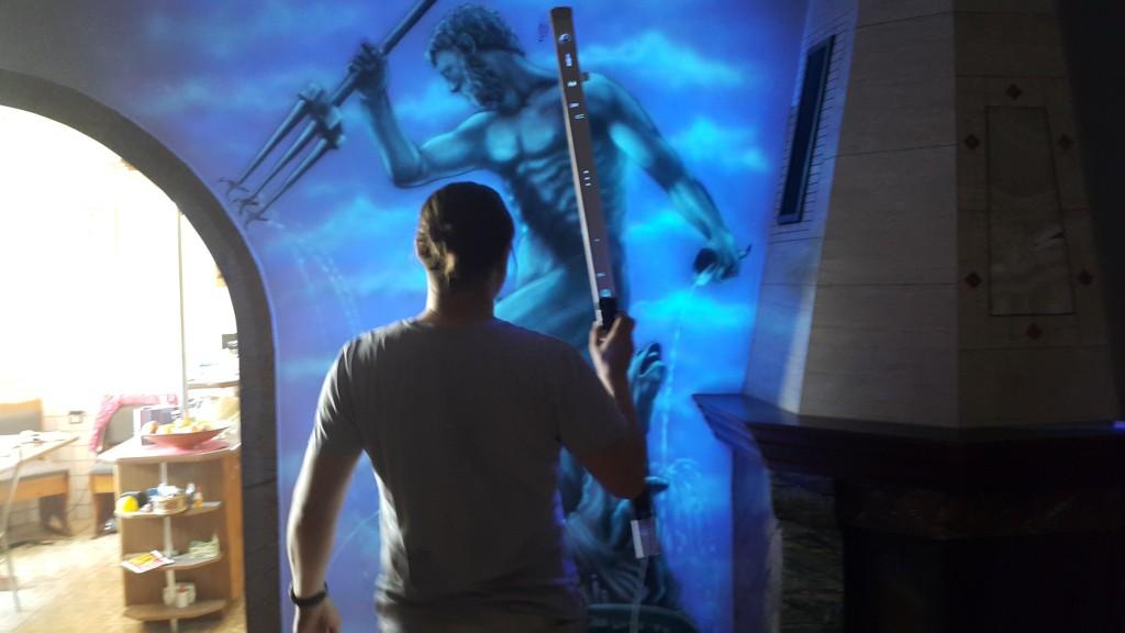 Mural UV, obraz świecący w ciemności