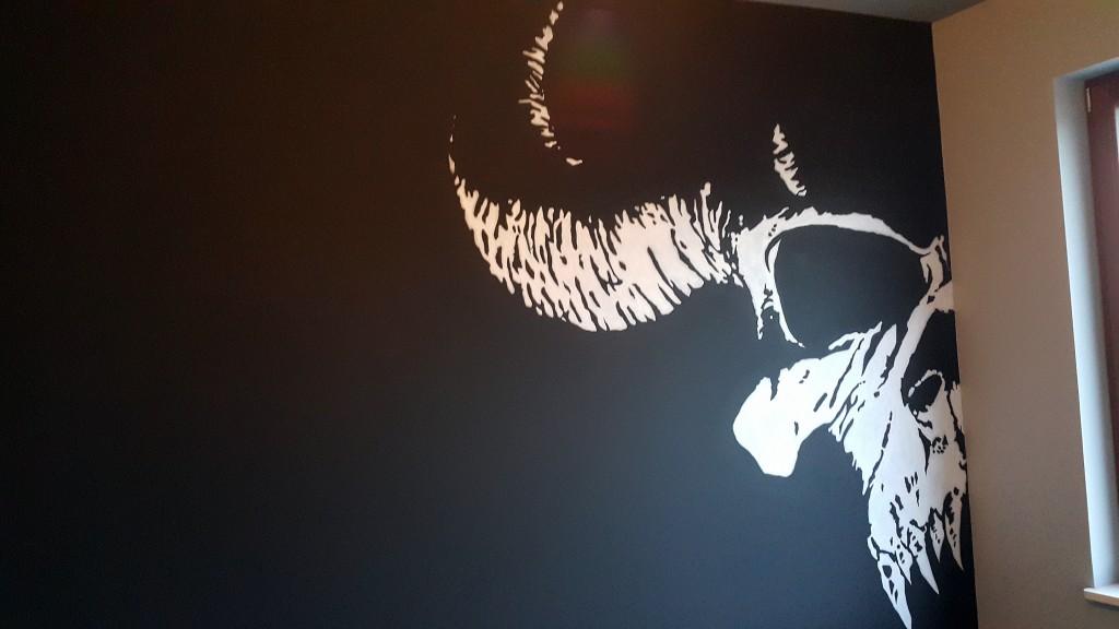 Logotyp, ręczne malowanie loga