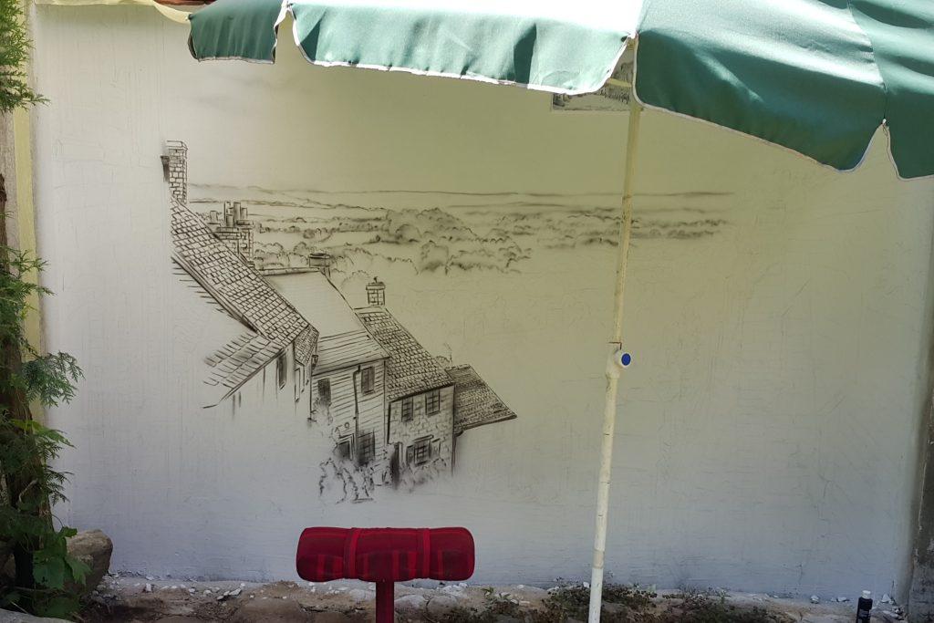 Artystyczne malowanie ścian, Malarstwo artystyczne na ścianach, kolorwoe malowanie ściany