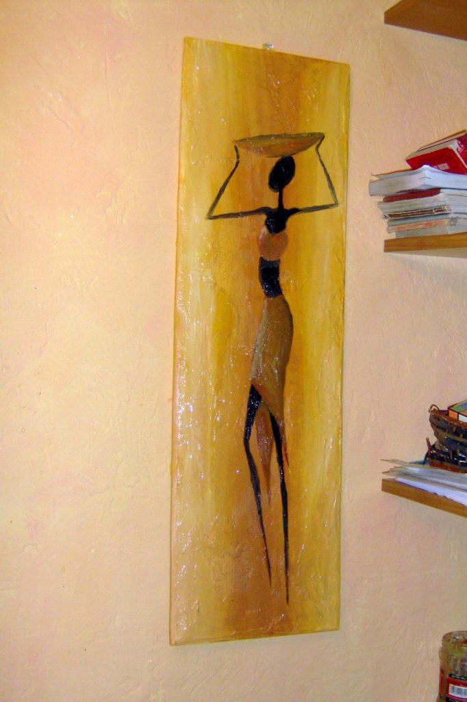Malowanie obrazów afrykańskich