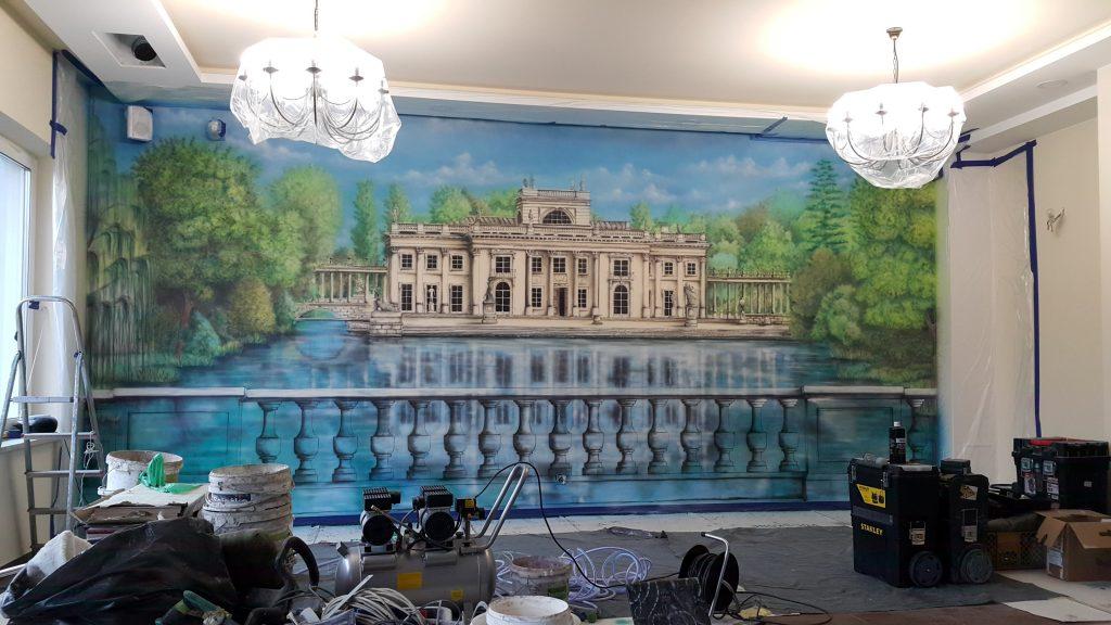 Malowanie obrazów na ścianie, artystyczne malowanie ścian 3