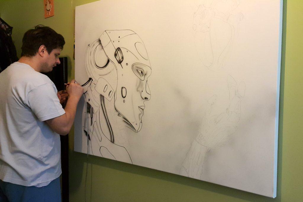 Malowanie obrazów na zamówienie