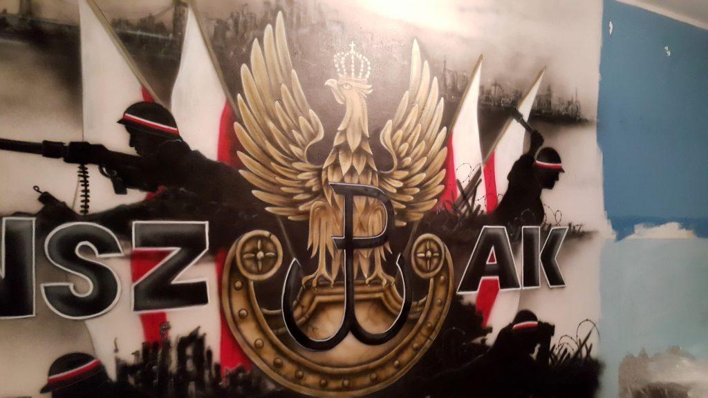 Mural patriotyczny, Polska walczące