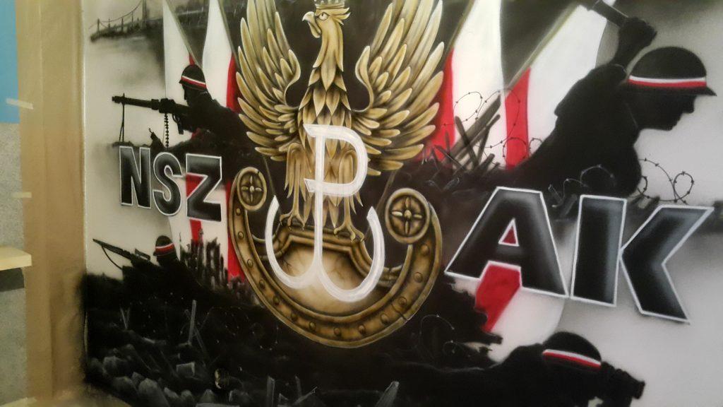 Mural patriotyczny, mural o powstaniu Warszawskim