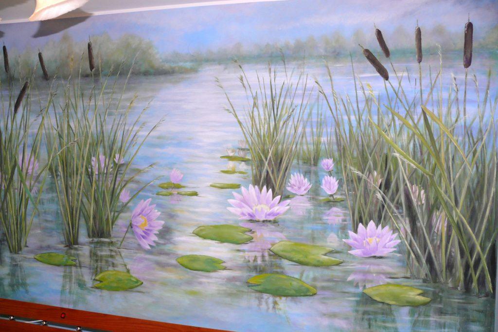 Duży obraz olejny, malowanie wielkoformatowych obrazów na płótnie