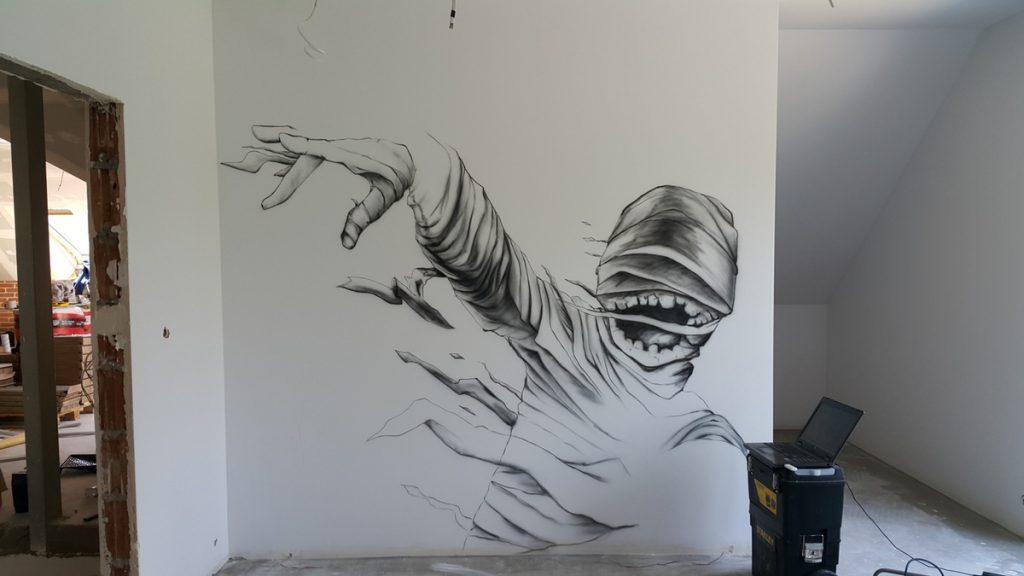 Malowanie pokoju młodzieżowego