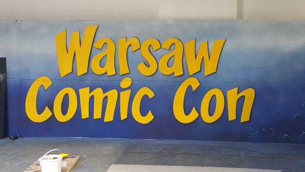Malowanie loga na evencie