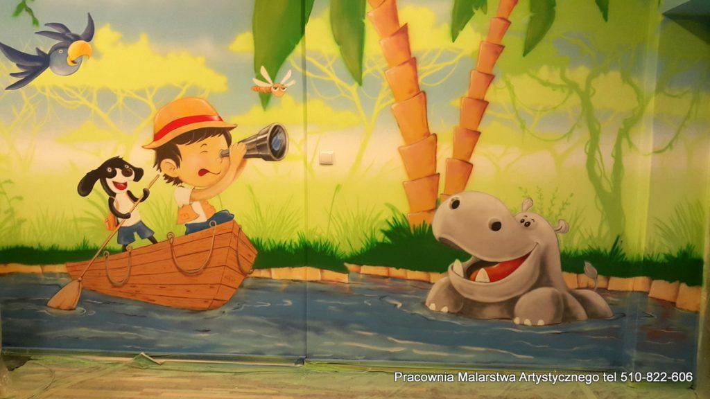 Malowanie sali zabaw dla dzieci