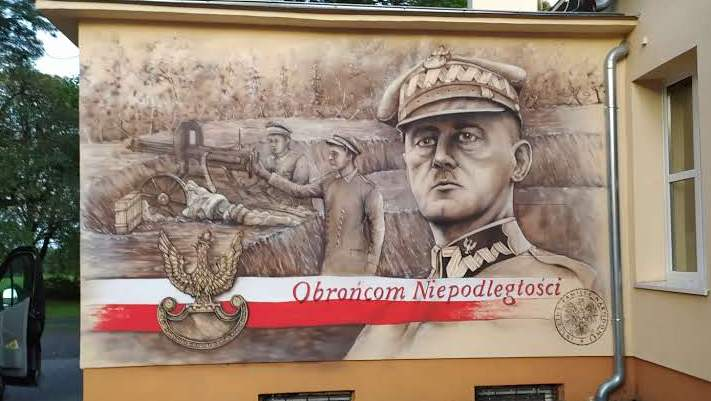 Mural w Parchaniu