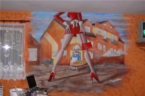 2.-dekoracja-ściany-w-pizzerii