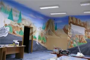 3.-malowanie-obrazu-ściennego-w-świetlicy-szkolnej