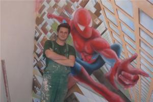 3.-pokój chłopca malowanie