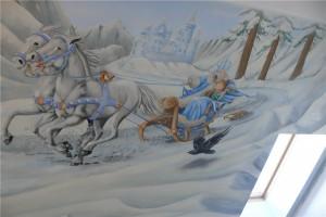 4.-pokój dziewczynki malowanie