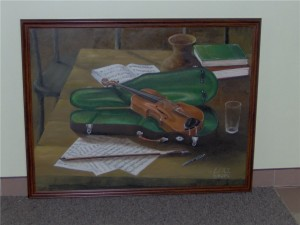 skrzypce-obraz-olejny