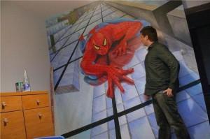 spiderman,-pokój-dziecka