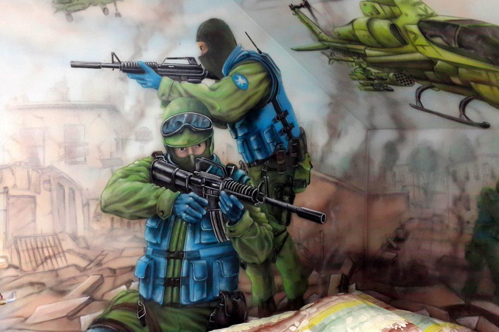 Aranżacja ścian, malowanie murali, malarstwo artystyczne Łuków