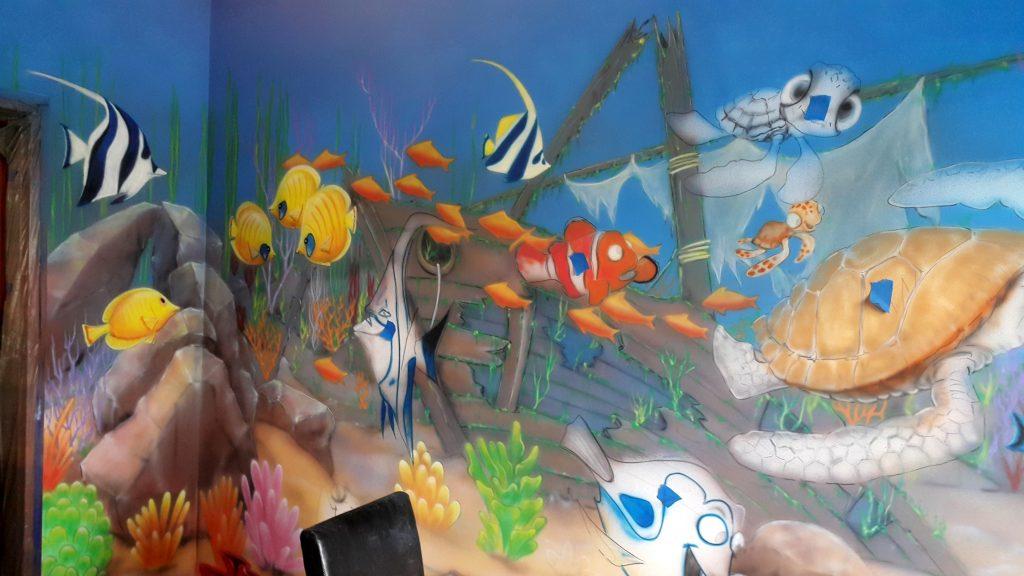 Malowanie pokoju dziecięcego, pokój dziecięcy