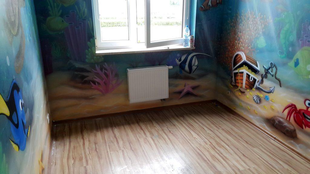 Malowanie pokoju dziecięcego, pokój chłopca