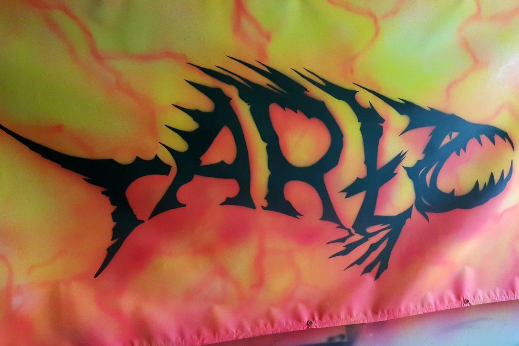 Malowanie loga dla zespołu, malowanie banerów i reklam na banerach, loga ręcznie malowane