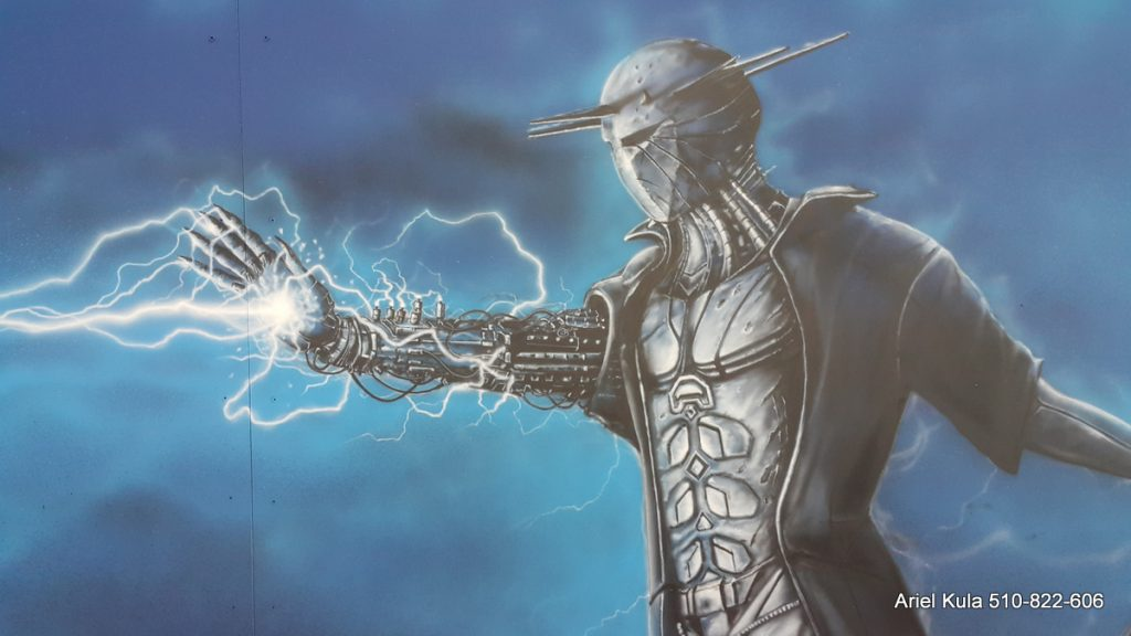 mural Pyrkon 2019, Prorok Elion Re-Legion.