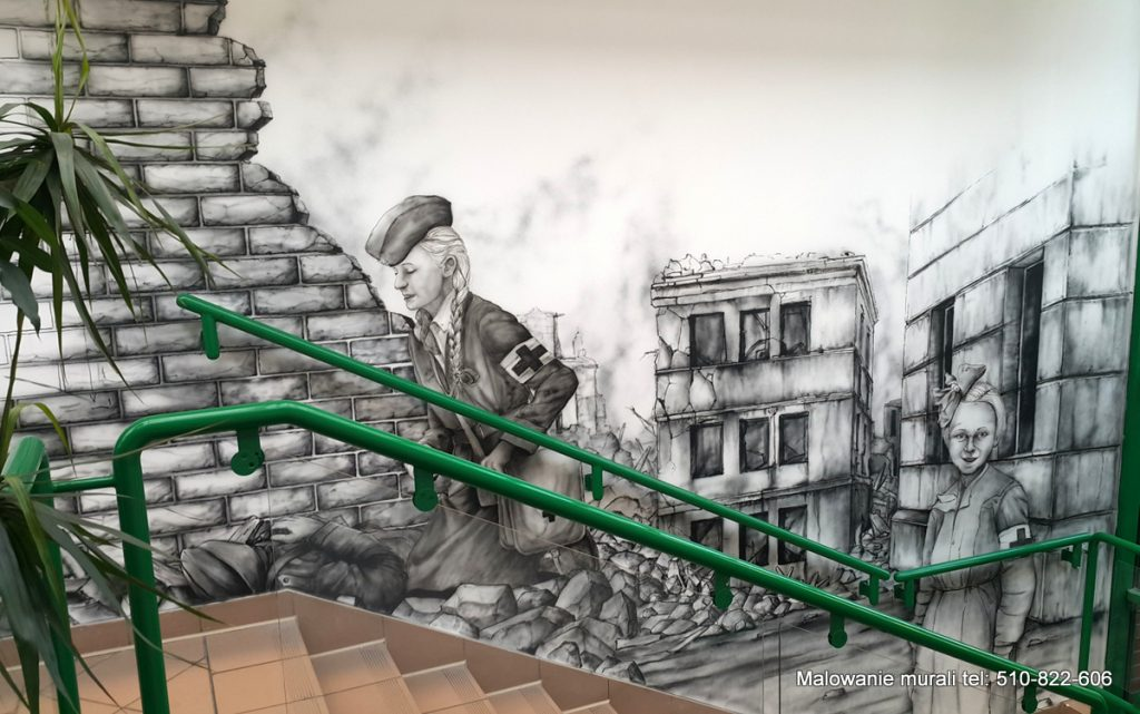 mural powstańczy
