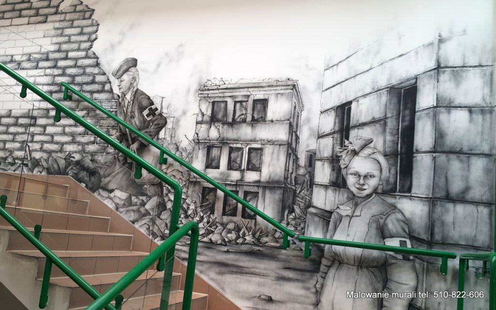 Mural wojenny