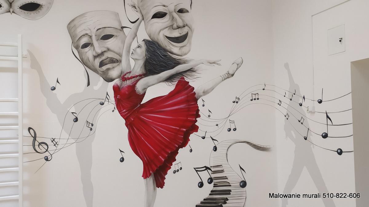 Malowanie murali, ciekawy pomysł na mural w szkole