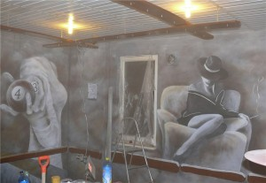 2.-dekoracyjne-malowanie-ściany-w-klubie