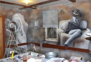 5.-artystyczne-malowanie-ściany-w-klubie